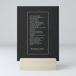 The Laughing Heart II Mini Art Print