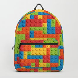 Colored cubes Backpack