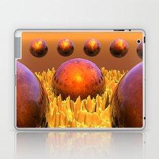 Red Spheres Laptop & iPad Skin