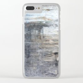 """850 abstract wall art"" Clear iPhone Case"