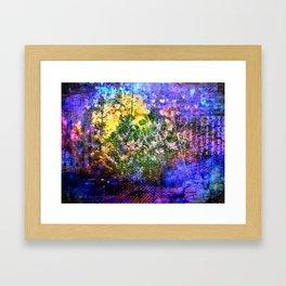 Blue Haze Framed Art Print