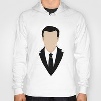moriarty Hoodies featuring 3 Jim Moriarty by Alice Wieckowska