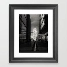 Into The Light London Framed Art Print