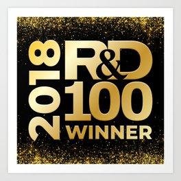 2018 R&D 100 Winner Art Print