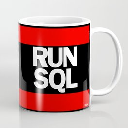 RUN SQL Coffee Mug