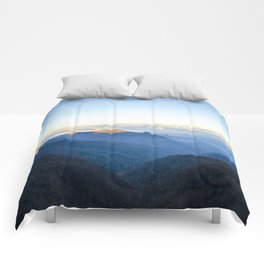 Clouds over mountains  Comforters