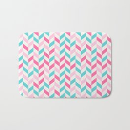 down arrow pattern Bath Mat