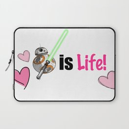 NerdCulture Is LIFE! (TheForce) Laptop Sleeve