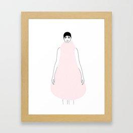 DRESSY Framed Art Print