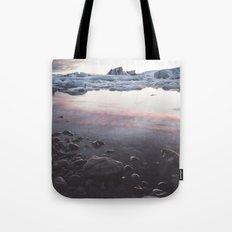 Jokulsarlon Lagoon - Sunset Tote Bag