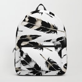Viking Feather Backpack