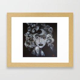Miss Fortune Framed Art Print