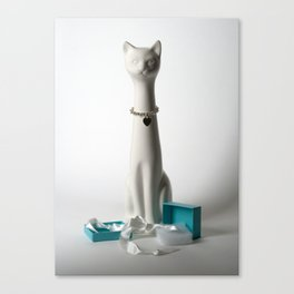 Tiffany Cat Canvas Print