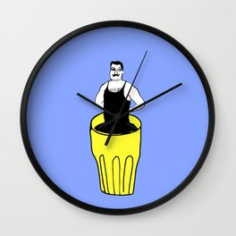 Hello Freddie Wall Clock