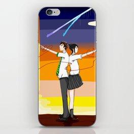 I can't reach you iPhone Skin