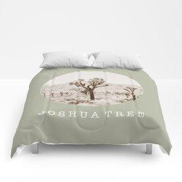 JOSHUA TREE / california / summer desert Comforters