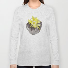 Lithops Blooming Long Sleeve T-shirt