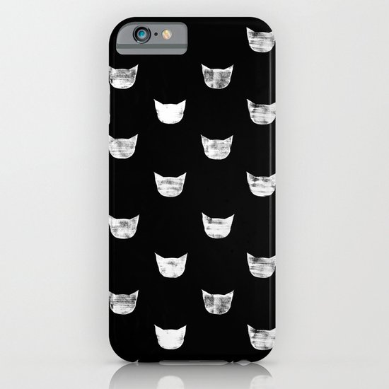 White Cat iPhone & iPod Case