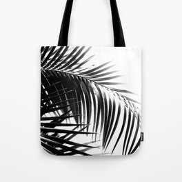 Palm Leaves Black & White Vibes #3 #tropical #decor #art #society6 Tote Bag