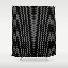Lines 28J Shower Curtain