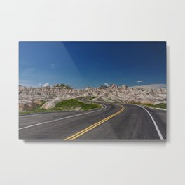 where will the road take you Metal Print