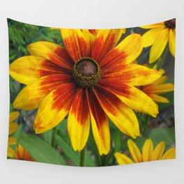Flower | Flowers | Yellow Gaillardia Daisy | Nature Photography Wall Tapestry
