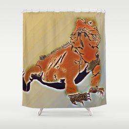 Goanna Shower Curtain