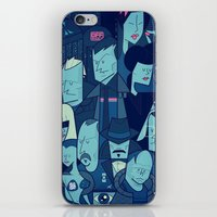 blade runner iPhone & iPod Skins featuring Blade Runner by Ale Giorgini