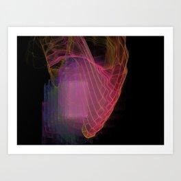 Soul Vibration Art Print