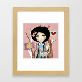 In the name of Love Framed Art Print