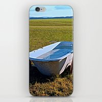outdoor iPhone & iPod Skins featuring Outdoor pool | conceptual photography by Patrick Jobst