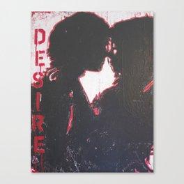 """""""edge of desire """" Canvas Print"""