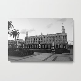 Grand National Theater, Havana, Cuba Metal Print