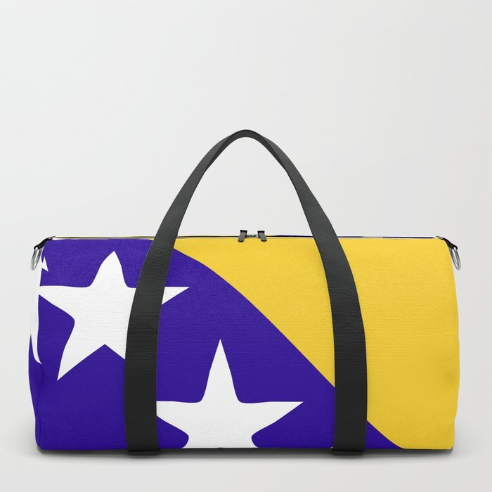Bosnia and Herzegovina flag emblem Duffle Bag