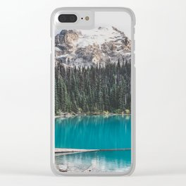 Joffre Lakes Clear iPhone Case