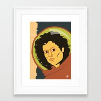 ripley Framed Art Prints featuring Ripley  by Arlin Ortiz