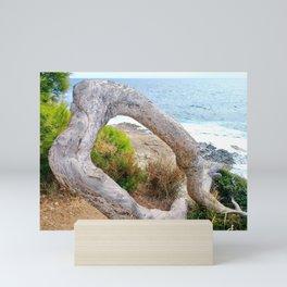 Tree Circle Mini Art Print