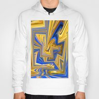 alchemy Hoodies featuring Attempted Alchemy by David  Gough