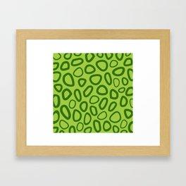 Alpha snake Framed Art Print