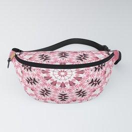 pink ornament, kaleidoscope, mandala, patchwork, pink mandala Fanny Pack