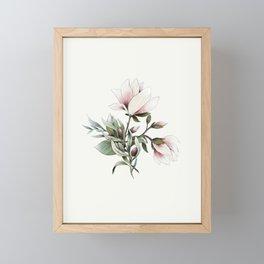 Magnolia and Olives Framed Mini Art Print