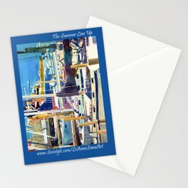 The Summer Line Up Stationery Cards