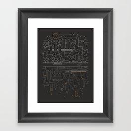 City 24 Framed Art Print