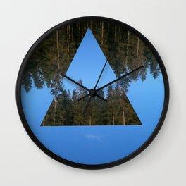 HIMLASKOGEN / WOODS IN THE SKY Wall Clock