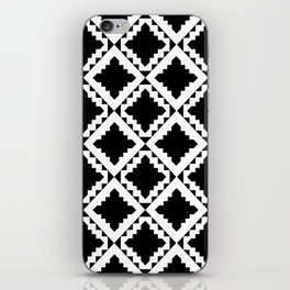 Modern Black iPhone Skin