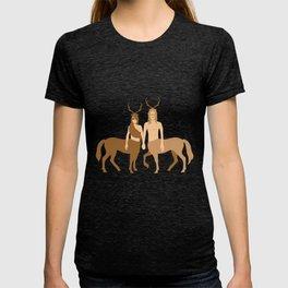 centaur antler T-shirt
