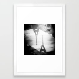 Paris, Paris I love you Framed Art Print