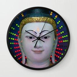Neon Karma Wall Clock