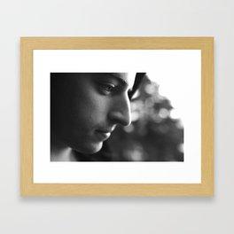 Laurence's Eye Framed Art Print