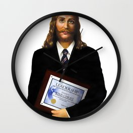 "JESUS      ""The Planet Earth Awards, Beyond Superstition"" Wall Clock"